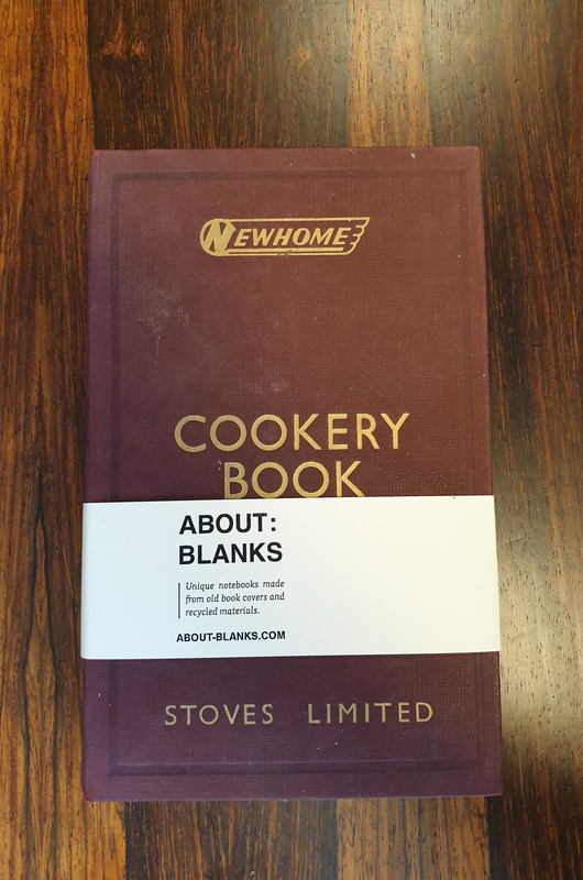 About Blanks Notitieboek Cookery Book