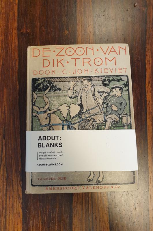 About Blanks Notitieboek De Zoon Van Dik Trom