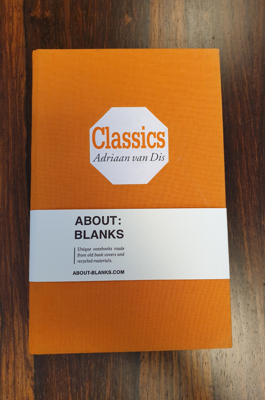 About Blanks Notitieboek Classics