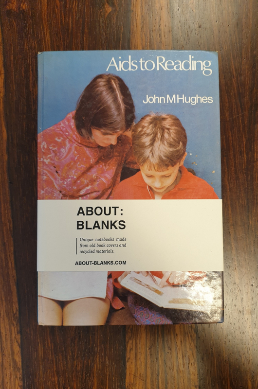About Blanks Notitieboek Aids To Reading