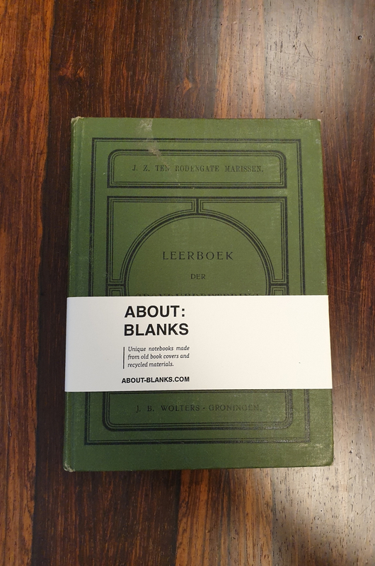 About Blanks Notitieboek Leerboek Der Grondverbetering