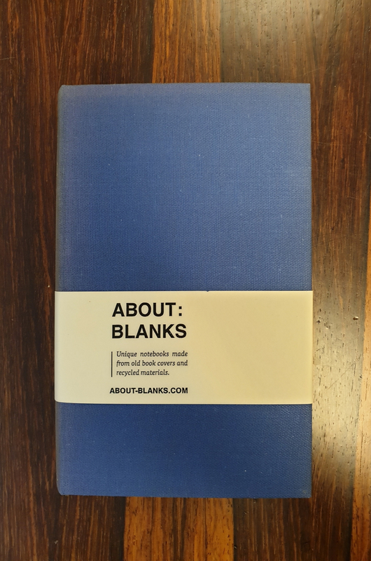 About Blanks Notitieboek Trilby