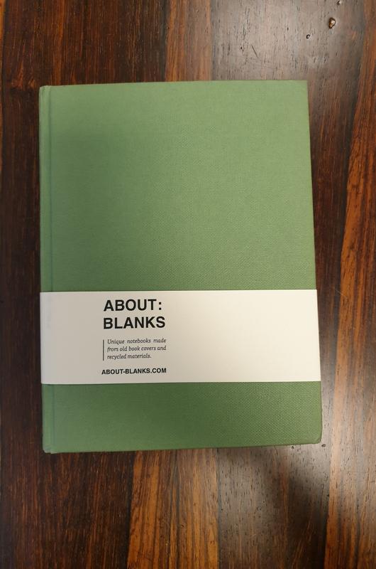 About Blanks Notitieboek Trafalgar