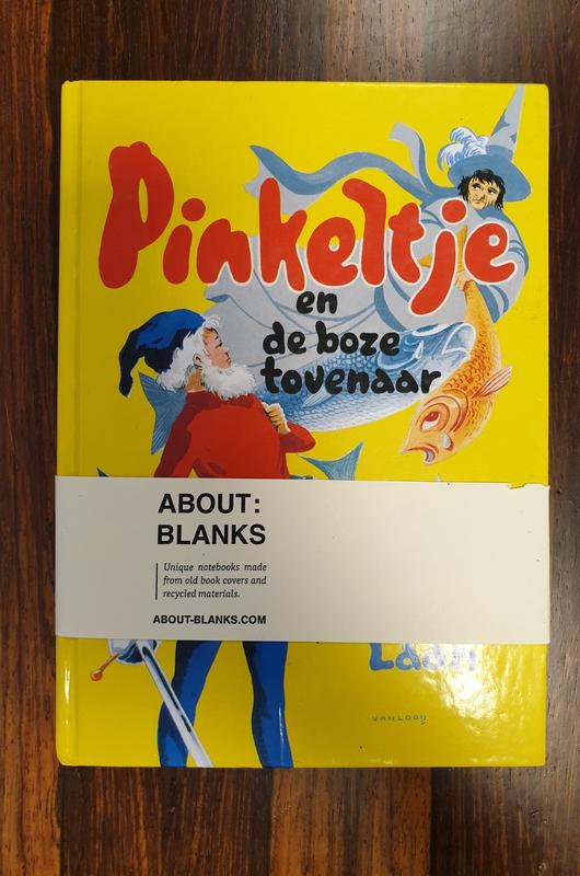 About Blanks Notitieboek Pinkelte En De Boze Tovenaar