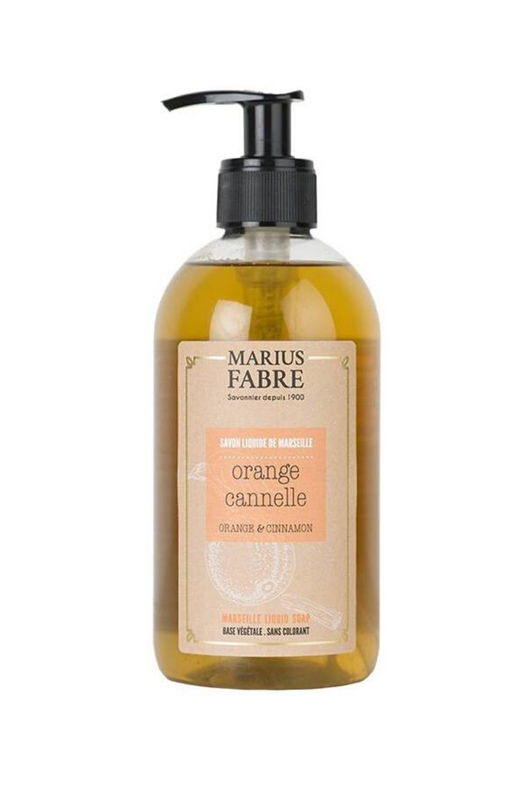 Marius Fabre vloeibare Marseille zeep sinaasappelschil kaneel