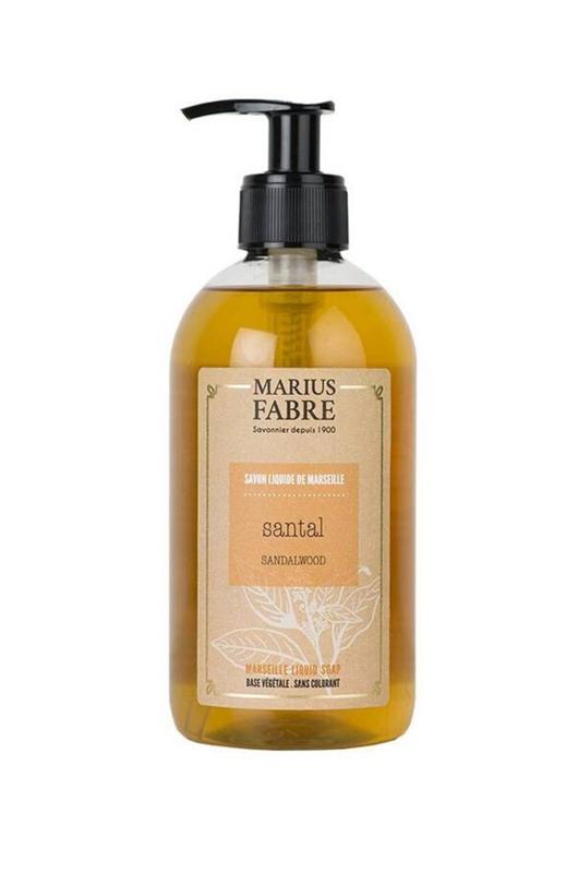 Marius Fabre vloeibare Marseille zeep Sandelhout