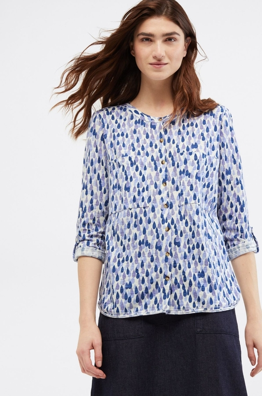 White Stuff shirt lou blauw