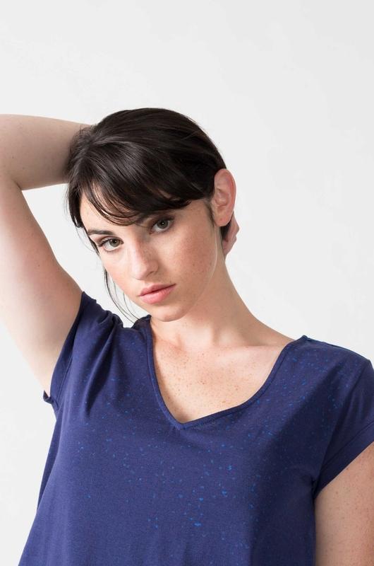 Skunkfunk shirt iduia blauw